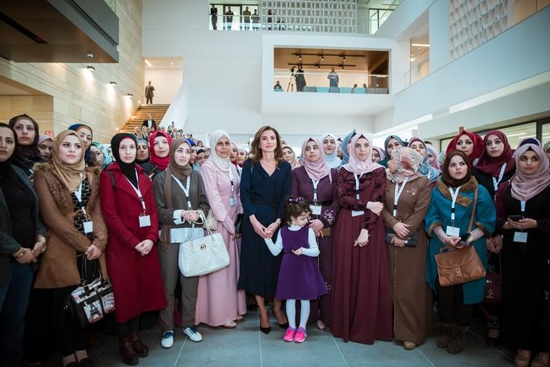 Queen Rania Meets Second Graduating Cohort From Queen Rania Teacher Academy Queen Rania