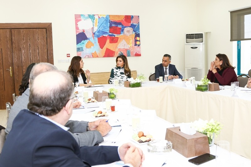 info for 79e2f fecde Queen Rania Chairs Jordan River Foundation s Annual Board of Trustees  Meeting