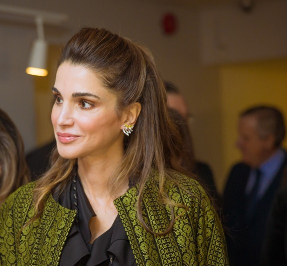 Elle Magazine Talks To Queen Rania About Her Relationship